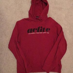 Red Active Ride Shop Hoodie